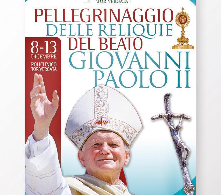 Pellegrinaggio delle reliquie di Giovanni Paolo II